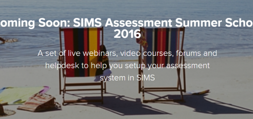SIMS Assessment Manager Summer School