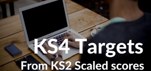 KS4 Targets from KS2 Scaled Scores