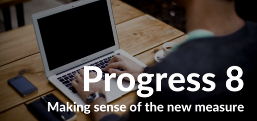 Making sense of progress 8