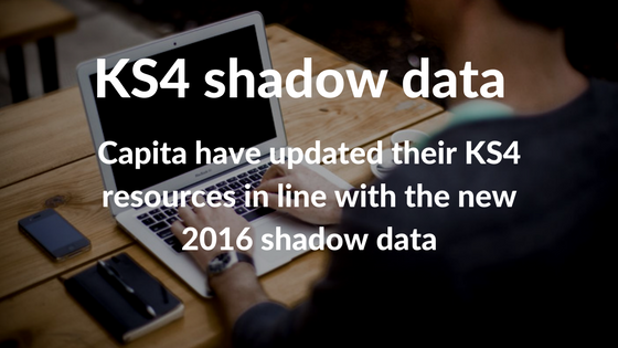 KS4 resources 'shadow data'