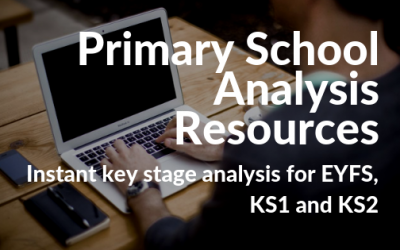 Primary school analysis resources 2019