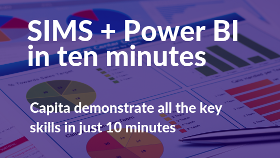 SIMS and Power BI in ten (yes ten!) minutes