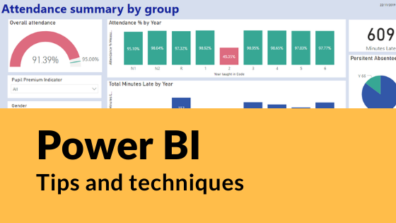 filtering by class using bromcom mat vision and power bi