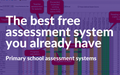 The free assessment system that you already have